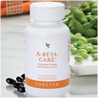A-Beta-CarE™ is an essential formula combining Vitamins A (Beta-Carotene) and E, plus the antioxidant mineral Selenium. Antioxidants are vital in the fight against free radicals (chemical molecules that arise from pollutants in the body and damage healthy cells). Contains Soy.