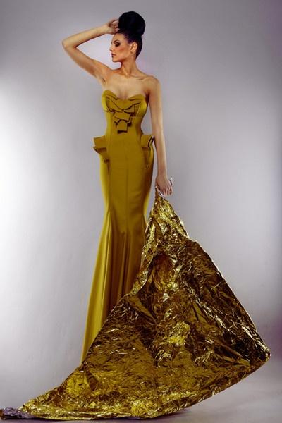 The Oliviana Dress by Denis Predescu