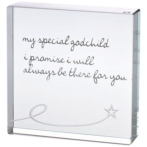 Lovely Christening idea for a godparent!  Spaceform Godchild Token, Medium Online at johnlewis.com