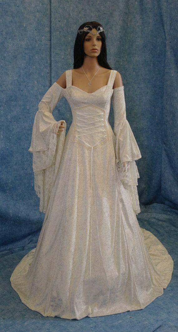 Mariage médiéval Renaissance mariage robe de par camelotcostumes