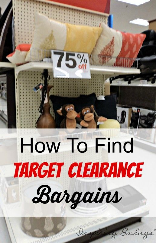 Learn how to save more money at Target by finding bargains within their clearance sections. Here are some tips you will need to know before you go shopping.