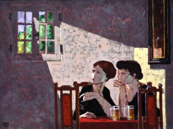 Juarez Machado (Brazilian, born 1941) - Talk bar