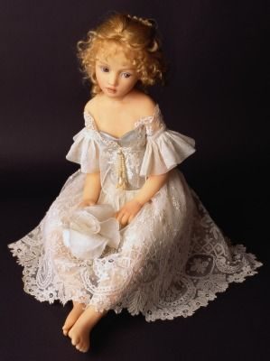 Porcelain Doll Making....Tatiana ... by doll artist Heloise