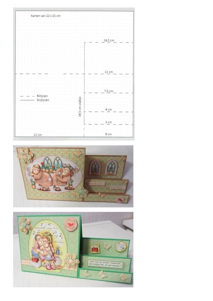 Charming Templates For Card Making Ideas Part - 8: Vouwkaart. Card Making TemplatesCard Making Tutorials3d ...