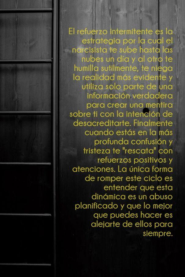 #CicloDeAbuso #Narcisistas #ViolenciaDomestica #ViolenciaPsicologica #ViolenciaGenero #PsicopatasIntegrados #Abuso #Maltrato #AcosoLaboral
