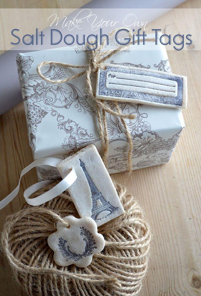 DIY Craft: Salt Dough Gift Tags