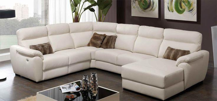 Un sofa rinconera muy COMPLETO. Si lo que quieres comprar un BUEN SOFÁ, este es ideal. Se fabrica en tela y piel. Más información en: http://sofaslasrozas.com/sofas-de-piel/sofa-de-piel-modelo-moon-piel-confort-97.html