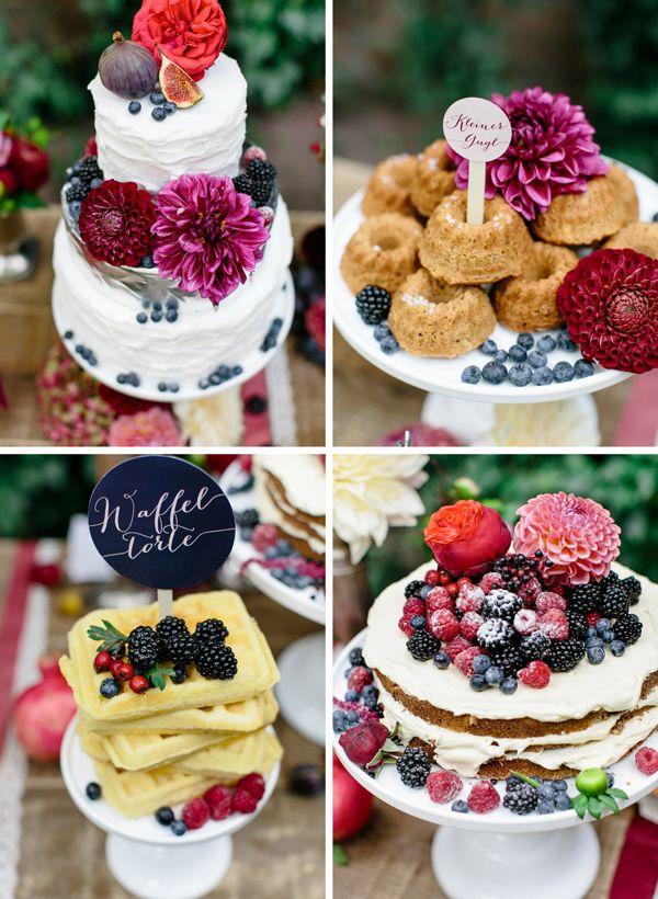 Eine beerige Hochzeitsinspiration | Friedatheres Foto Julia Winkler
