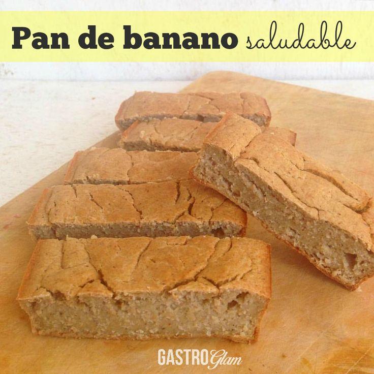 Pan de banano saludable, hecho en licuadora | Gastroglam