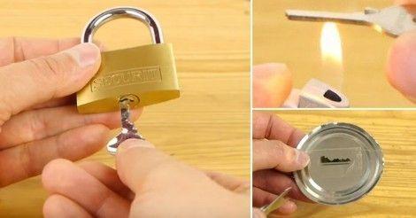 Cómo+hacer+una+copia+de+llave+casera+en+5+minutos