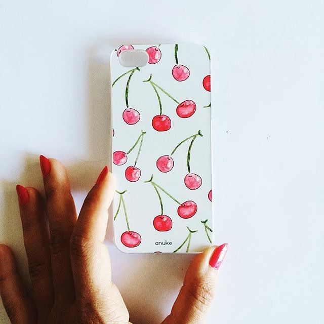 Cherry Bomb - iPhone and Samsung case #anukedesign #iphonecase #iphonecases #samsungcase
