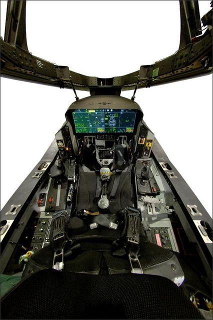 F-35 cockpit, so high tech