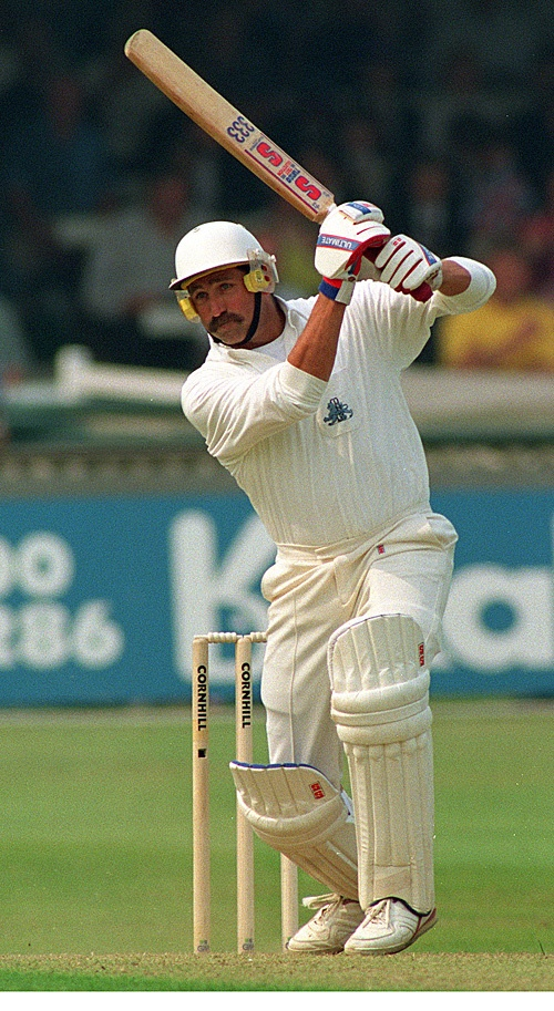 Graham Gooch OBE DL(Deputy lieutenant). Played 118 tests for England, scoring 8900 runs (42.58).A highest test score of 333 v India at lord's.