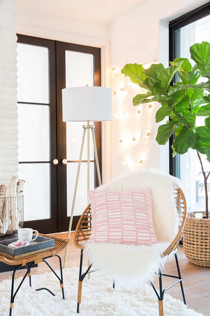 Woven Bamboo Lounge Chair