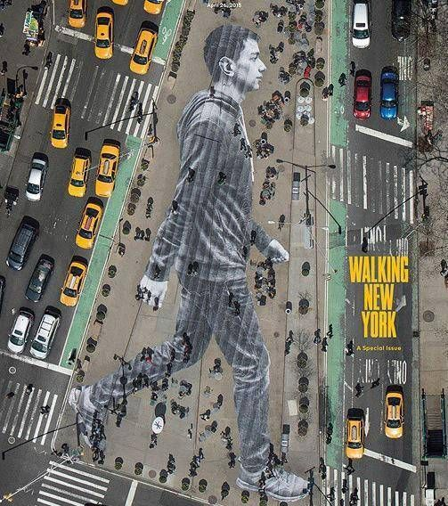 JR em Nova York apresenta a promessa de arte de rua                                                                                                                                                                                 Mais
