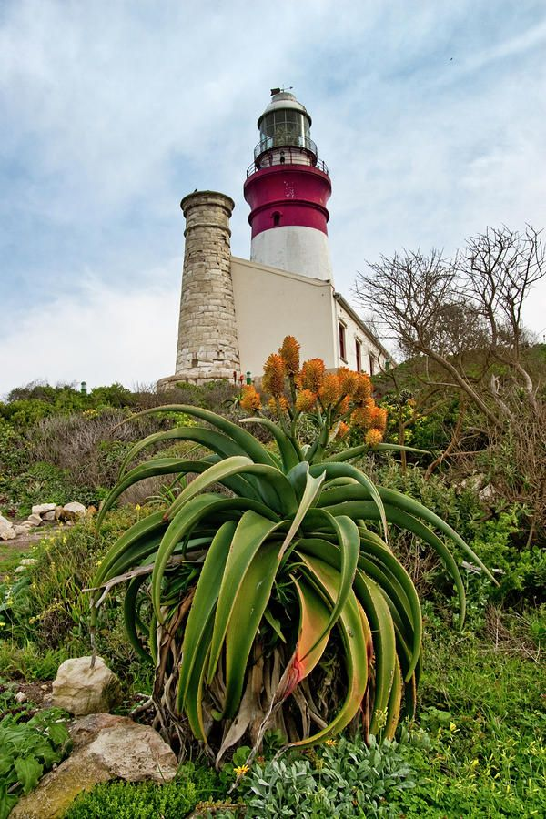 The Cape Agulhas Lighthouse is situated at Cape Agulhas, the southernmost tip of Africa. It was the third lighthouse to be built in South Africa, and the second-oldest still operating, after Green Point.