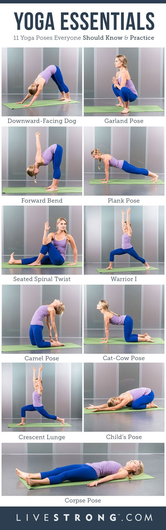 You may have a busy schedule every day, but even fitting in just 10 minutes to practice yoga poses can reap huge benefits. These include increased strength and flexibility, and greater energy. They are also a great way to warm up before a workout in the g