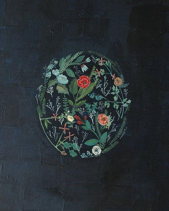 Flora Print by Britt Hermann.