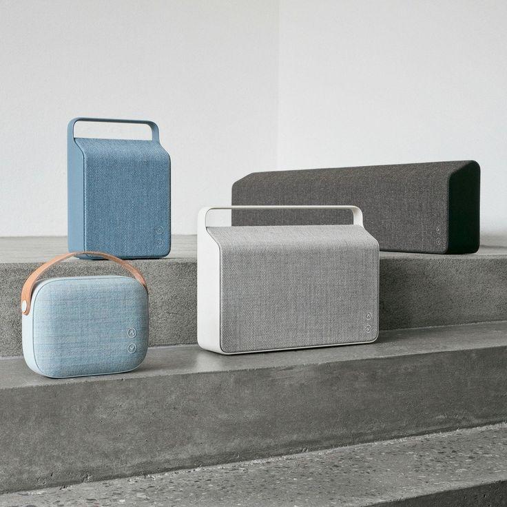 Vifa's Nordic Collection of Soundspeakers (from top left: Oslo, Stockholm, Copenhagen, Helsinki)