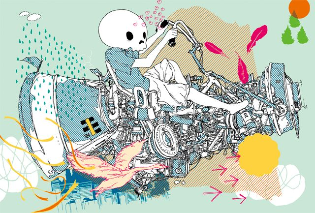 illustration | motograph | 森 俊博 Toshihiro Mori