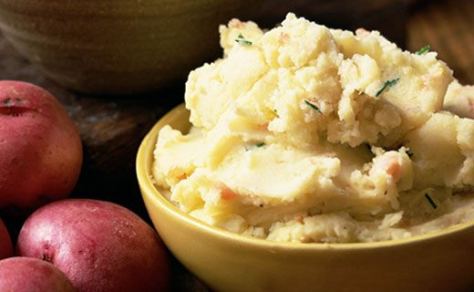 Epicure's Onion and Garlic Mashed Potatoes