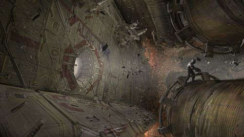 thecyberwolf:  Dead Space - Concept Art Created by Jason...