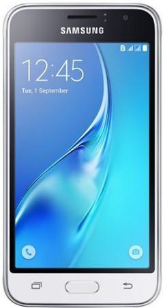 Samsung Galaxy J1 mini (2016), 8 Гб, Белый  — 4990 руб. —  Смартфон Samsung J1 mini (2016) – компактная модель бюджетного смартфона. Размер дисплея всего 4 дюйма. Экран модели обеспечивает естественную цветопередачу и широкий диапазон оттенков. Снимайте качественные фотографии в сумерках и в движении − обе камеры смартфона 2 и 5 МП гарантируют высокое качество снимков. Тыловая камера имеет диафрагму f2,2 − она отлично справляется с ночной съемкой и фотографированием портретов. За…