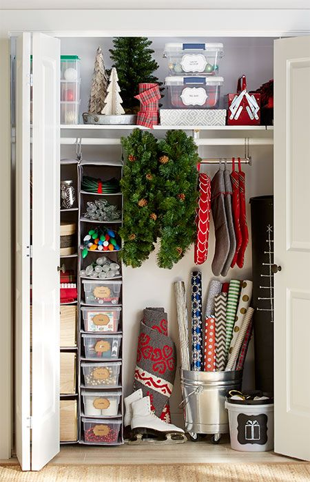 Organize Your Christmas Decorations Beautifully. Itu0027s Easy To Be Creative  With Holiday Storage.   Loweu0027s Creative Ideas