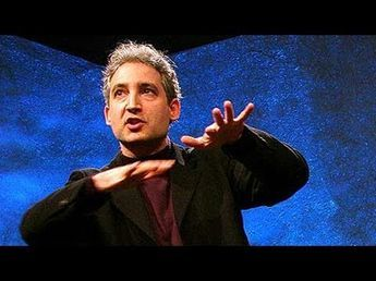 Physicist Brian Greene explains superstring theory, the idea that minscule strands of energy vibrating in 11 dimensions create every particle and force in the universe.