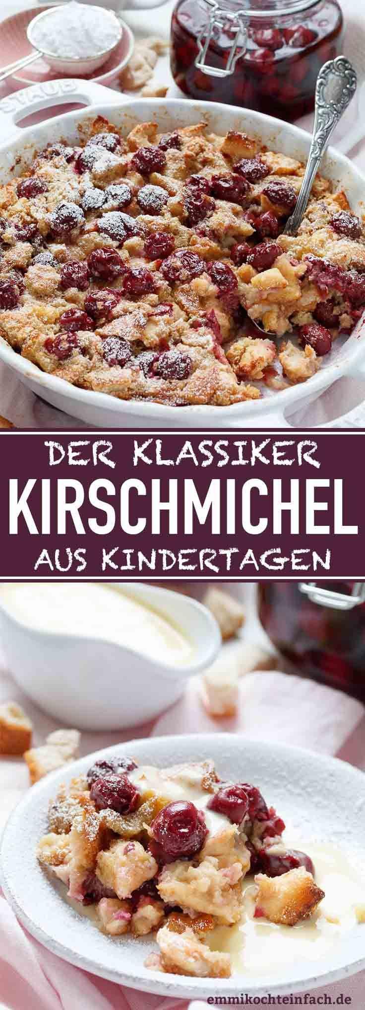 Kirschichel from Omi – the simple oven dessert