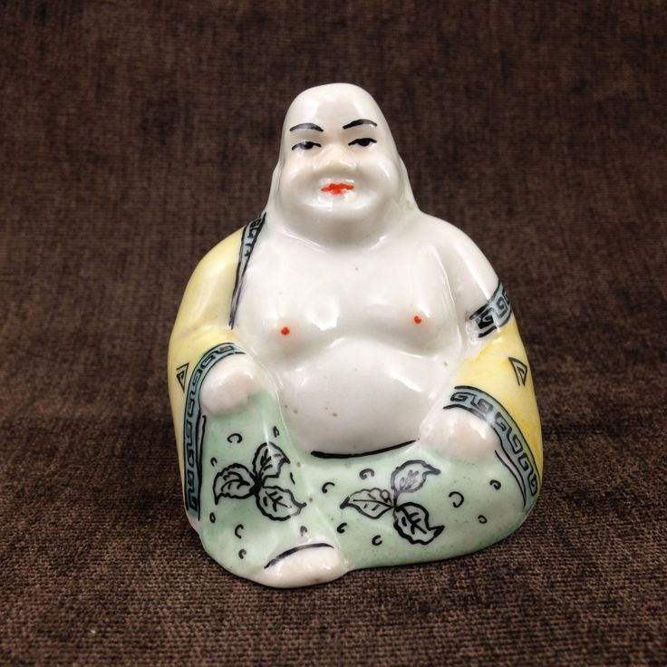 "Very Rare Mongolian Porcelain Figurine ""Buddha""- porcelain figurine, 60s porcelain, collectible porcelain, antique porcelain, chinese buddha by BestVintage4You on Etsy"