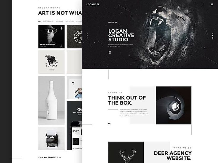 """Logancee Studio by C-Knightz Art #digital #interface #mobile"