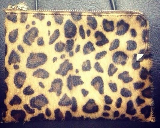 @BOST LTD Leo #Clutch #leopard #ponyhair #leather #bags $70 hello@ bostlimited.com to purchase #BOSTLTD