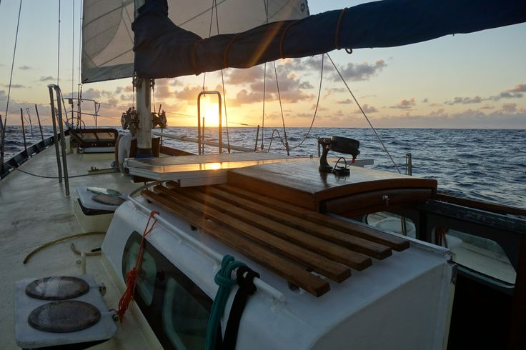So what now? One month on Pacific Ocean, hell Yeah!!! #Sailing #Travel #Adventure #Pacific #Ocean #Sunset