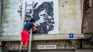 Sandnes Art Trail har fått fleire kunstnarar til å dekorera veggar i byen. Nå håper dei fleire har ein vegg å tilby.