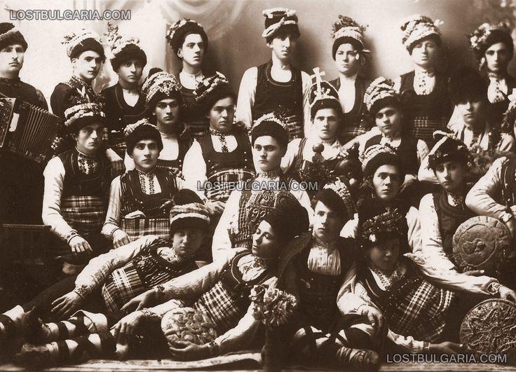 Carol in Dobrudja costumes Bradvari village, Silistra, 1939