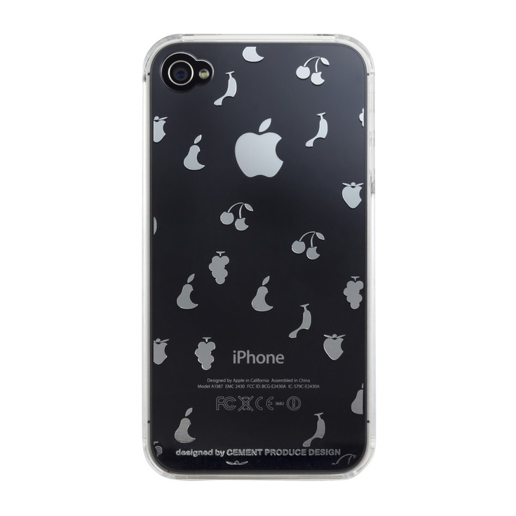 """iTattoo snap case: New styles available now!  """"Queen of fruit"""" 35€ #charlesandmarieIphone Cases, Itattoo Queens, Itattoo Cases, Cases Believe, Iphone 4 Cases, Itattoo Iphone, Cases Apples, Iphone4S4 ケースItattoo, Apples Cores"""