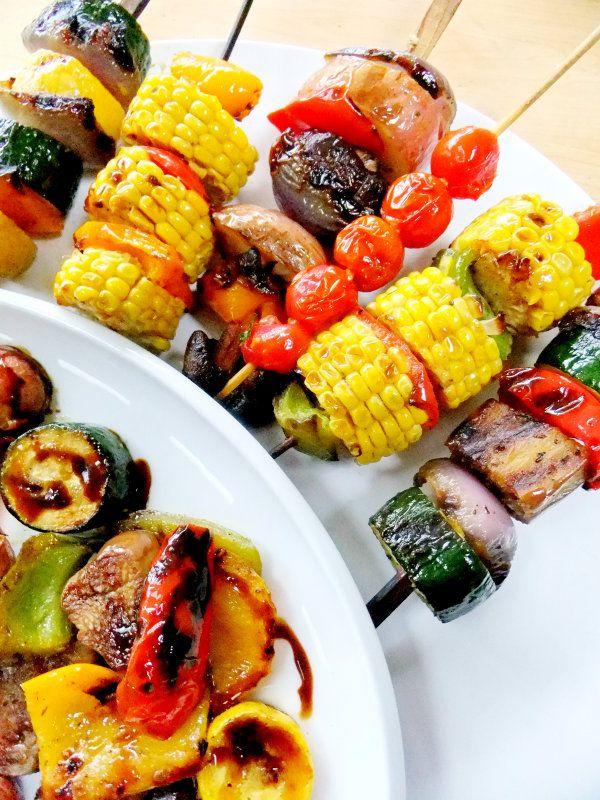grilled vegetable skewers http://www.prouditaliancook.com/
