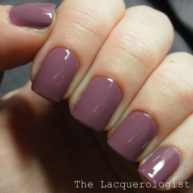 Zoya Odette is a sultry maroon cream - from the Naturals collection ...