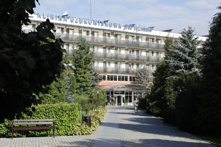 """Klinika Uzdrowiskowa """"Pod Tężniami"""" #sanatory #ciechocinek #poland #salt #health"""