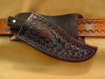 Resultado de imagen de how to make a leather crossdraw knife sheath