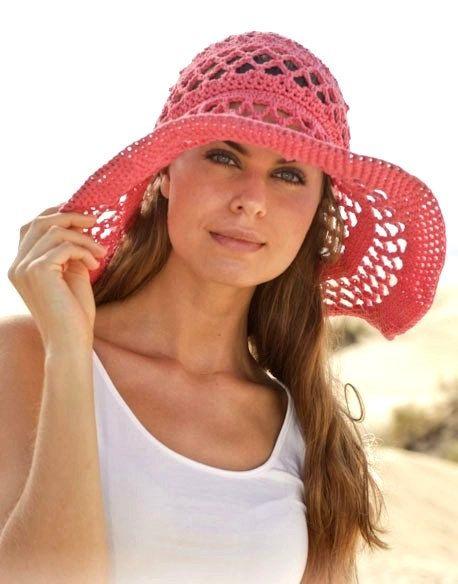 Fedora hat Wide brim hat Floppy hat Summer hat Sun by prettyobject