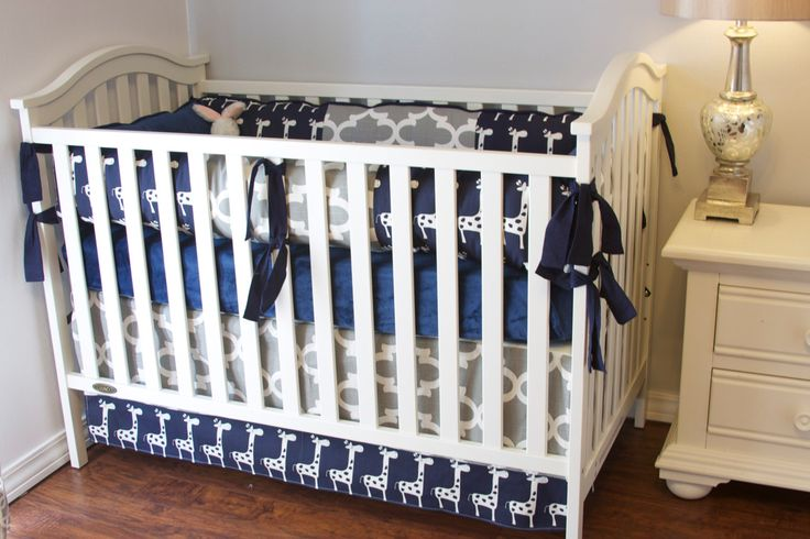 Custom Boy Baby Bedding, Custom Giraffe Boy Bedding, Custom Baby Bedding, Ritzy Baby Crib Sets for Boys, Designer Boy Crib sets, Crib guards by RitzyBabyOriginal on Etsy https://www.etsy.com/listing/205075996/custom-boy-baby-bedding-custom-giraffe