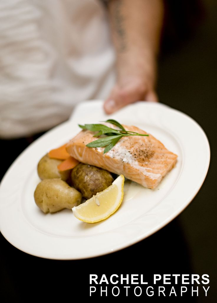 Chef Darius Martin creation - Atlantic Salmon