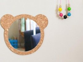 miroir ours diy