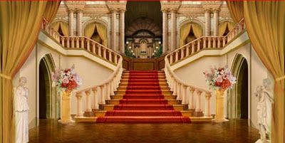 Grand stairway, Stairways and Backdrops on Pinterest