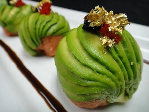Amazing Edible Art - Spicy Tuna Bon Bon - How To Make Sushi Series - YouTube
