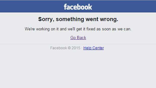 Facebook se ha caído por segunda vez en menos de 10 días #Facebookdown. DETALLES: http://www.audienciaelectronica.net/2015/09/facebook-se-ha-caido-por-segunda-vez-en-menos-de-10-dias/