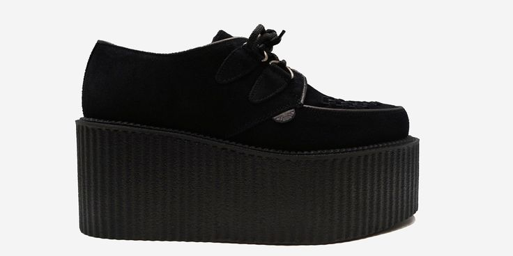 ORIGINAL WULFRUN CREEPER - BLACK SUEDE - TRIPLE SOLE - Underground