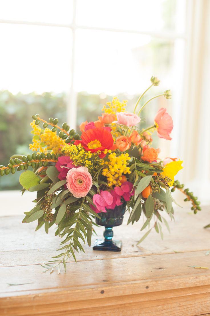 290 best mixed flower arrangements centerpieces images on diy summer flower arrangement izmirmasajfo Images